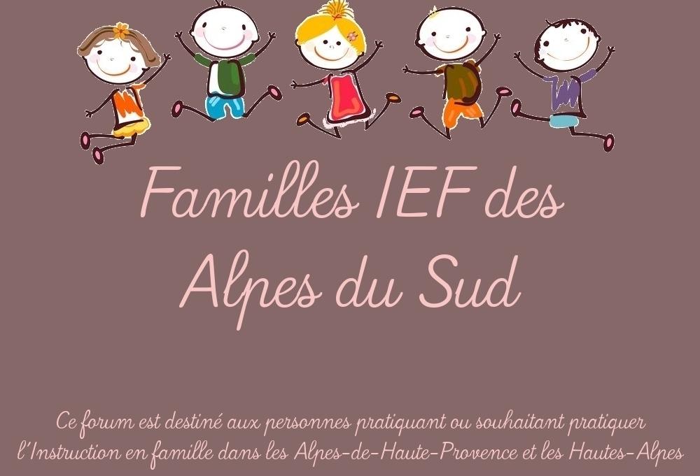 Forum pour l'Instruction en famille dans les Alpes du Sud
